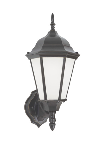 Sea Gull Lighting - One Light Outdoor Wall Lantern - 88941BL-782