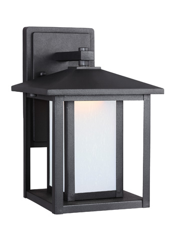Image of Small LED Outdoor Wall Lantern
