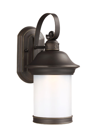Sea Gull Lighting - Small LED Outdoor Wall Lantern - 8918191S-71