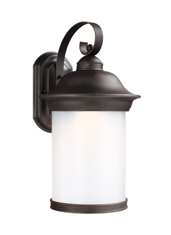 Sea Gull Lighting - Large LED Outdoor Wall Lantern - 8919391DS-71