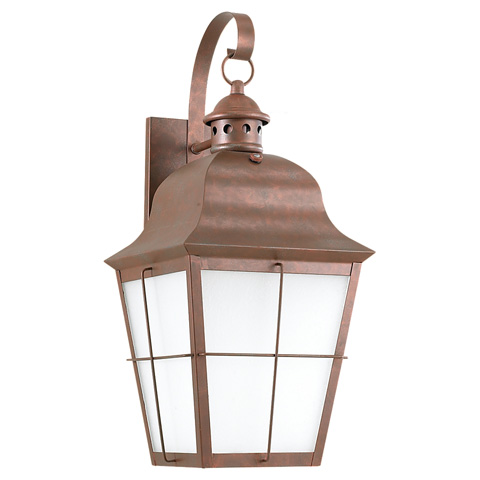 Sea Gull Lighting - One Light Outdoor Wall Lantern - 89273BLE-44