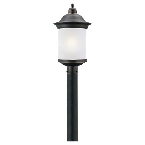 Sea Gull Lighting - One Light Outdoor Post Lantern - 89298BL-71