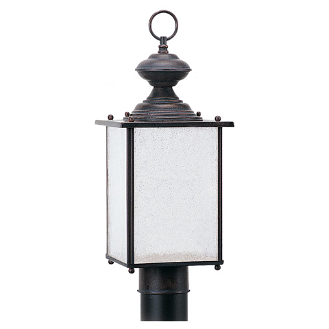 Sea Gull Lighting - One Light Outdoor Post Lantern - 89386BL-08
