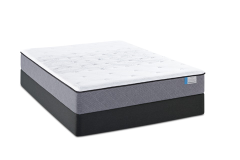 Image of PosturePedic Cushion Firm Mattress Set