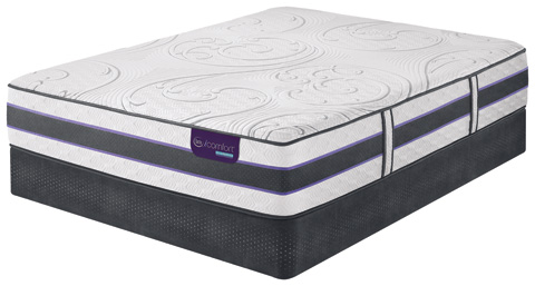Image of HB500S Ultra Plush Hybrid Smooth Top Mattress Set