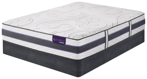 Image of HB300S Firm Hybrid Smooth Top Mattress Set