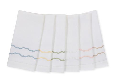 Sferra Bro Ltd - Tissue Box Cover - 3424TISSUEBXWBL
