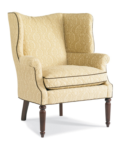 Sherrill Furniture Company - Upholstered Wing Back Chair - DC15