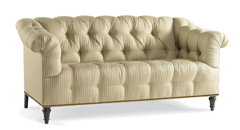 Image of Button-Tufted Sofa