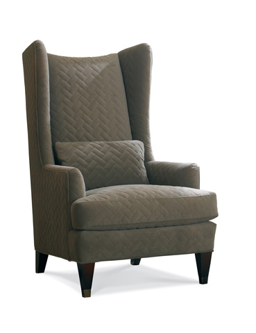 Sherrill Furniture Company - High Back Upholstered Wing Chair - 1660