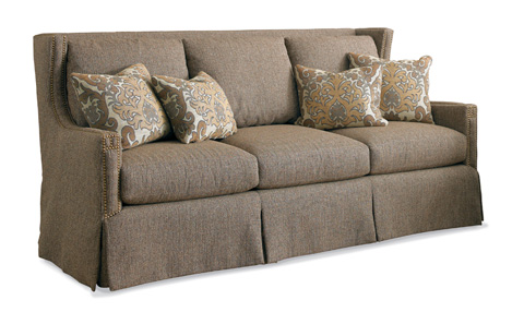 Wingback Sofa 3421 Sherrill Furniture Company Sofas From Furnitureland South