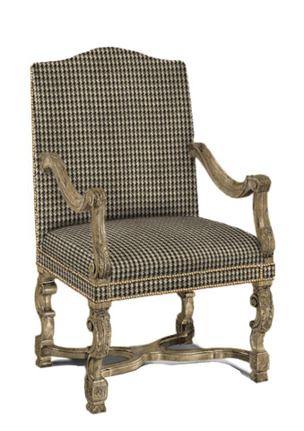 Sherrill - Carved Chair - 1110