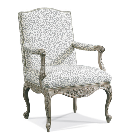 Sherrill - Carved Chair - 1123