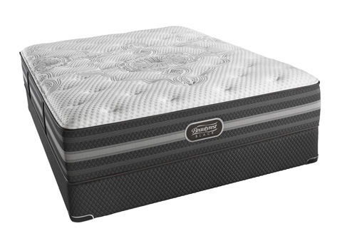 Image of Beautyrest Black Desiree Plush Mattress Set