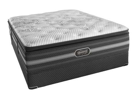 Image of Beautyrest Black Katarina Plush Mattress Set