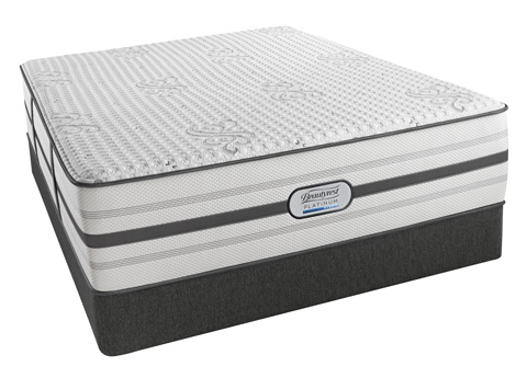 Image of Beautyrest Platinum Maddie Lux Firm Mattress Set