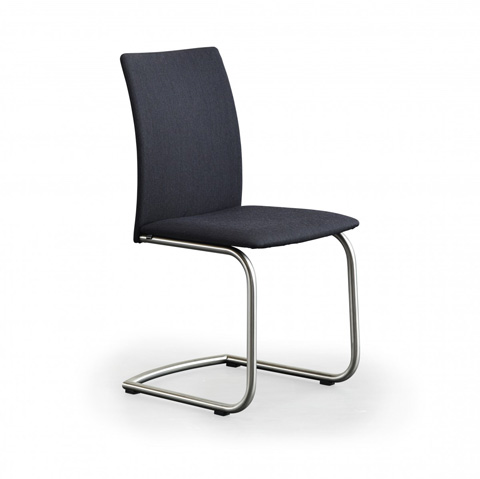Image of Dining Chair with Metal Base