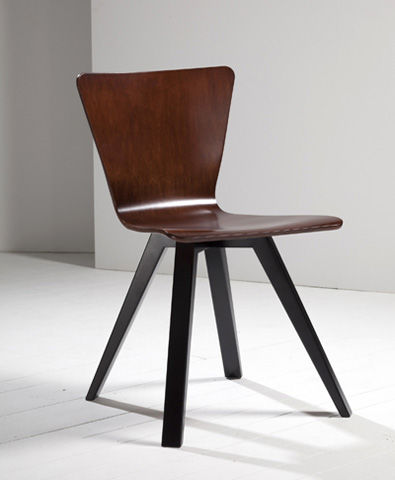 Saloom Furniture - Side Chair - BOWTIE