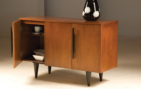Saloom Furniture - Three Door Buffet - MBF48-MD2