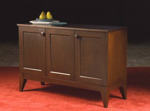 Saloom Furniture - Three Door Buffet - MBF50-T1