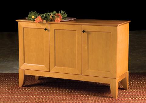 Saloom Furniture - Three Door Buffet - MBF50-T2