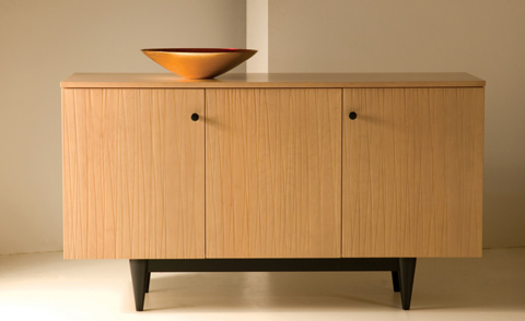 Saloom Furniture - Three Door Buffet - MBF57-C3