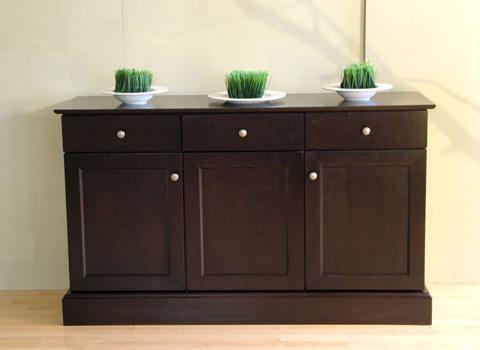 Saloom Furniture - Three Door and Three Drawer Buffet - MWB60