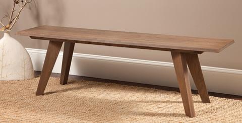 Saloom Furniture - Oak Bench - OBN-W 60 TPR