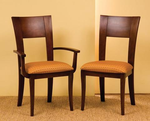 Saloom Furniture - Arm Chair and Side Chair - 22AU/22SU