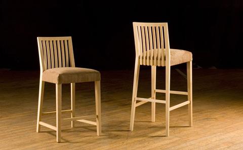 Saloom Furniture - Barstool and Counter Stool - 24BU/24BW/24CU/24CW