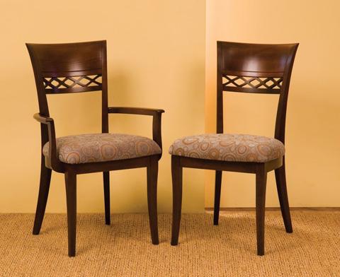 Saloom Furniture - Arm Chair and Side Chair - 25AU/25SU