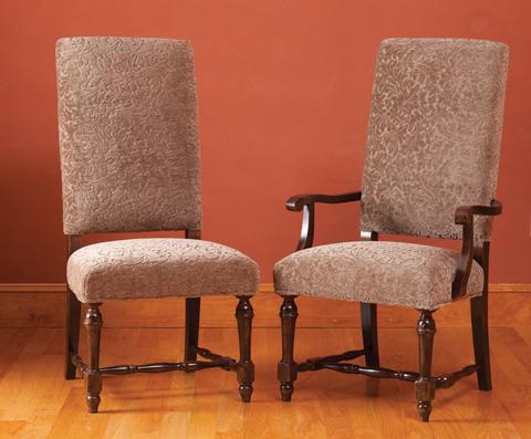 Saloom Furniture - Arm Chair and Side Chair - 30AU/30SU