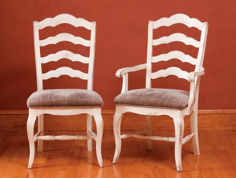 Saloom Furniture - Arm Chair and Side Chair - 35AU/35SU