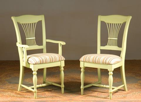 Saloom Furniture - Arm Chair and Side Chair - 90AU/90SU