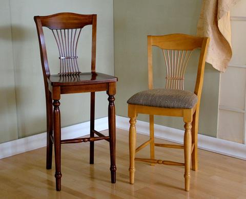 Saloom Furniture - Barstool and Counter Stool - 90BW/90CU