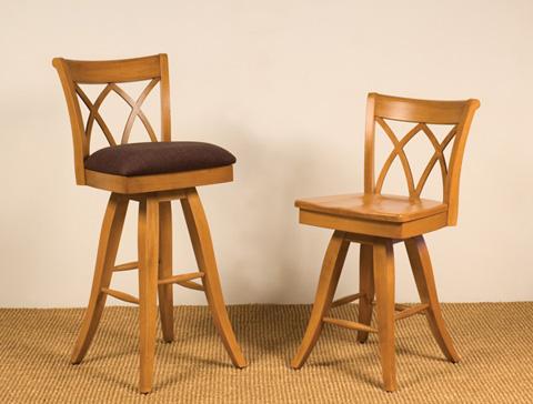 Saloom Furniture - Barstool and Counter Stool - 918BU/918CW