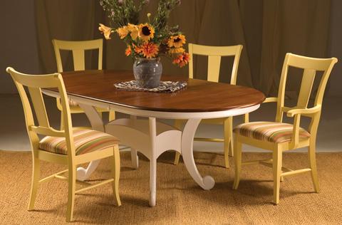Saloom Furniture - Dining Room Set - MTWO 4260-1/19SU/19AU