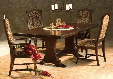 Saloom Furniture - Dining Room Set - NCHS 4280/30SU/30AU/850HW