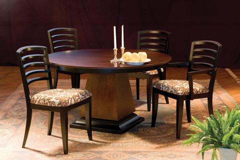 Saloom Furniture - Capital Dining Table - MEWO 5454