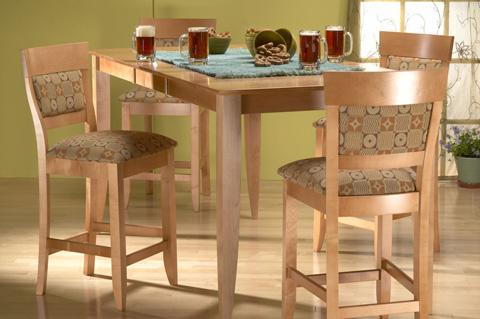 Saloom Furniture - Saber Pub Set - MSWS 3654-1/57BU