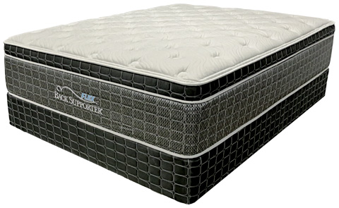 Image of Glenville Super Pillow Top Mattress Set