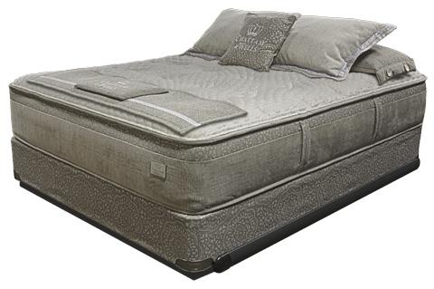 Image of Savoy Plush Pillow Top Mattress Set