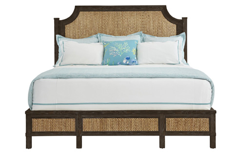 Stanley - Coastal Living - Woven Queen Bed in Channel Marker - 062-13-41