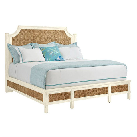Image of Woven Queen Bed in Sail Cloth