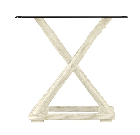 Image of Driftwood Flats End Table in Sail Cloth