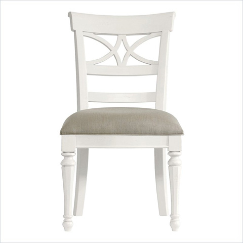 Image of Sea Watch Side Chair in Saltbox White