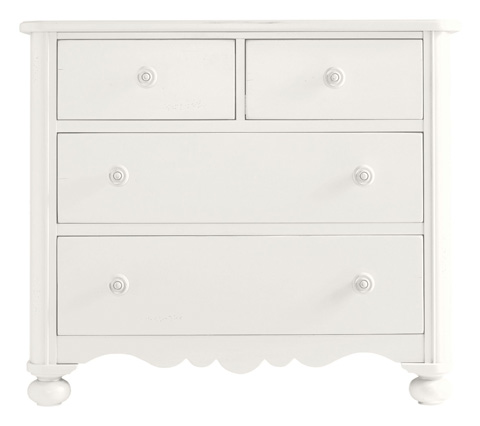 Image of Seaside Chest in Saltbox White