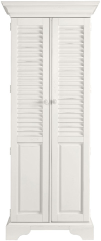 Image of Summerhouse Utility Cabinet in Saltbox White