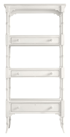 Image of Etagere in Saltbox White