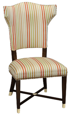 Stanford - Palmetto Armless Dining Chair - D589